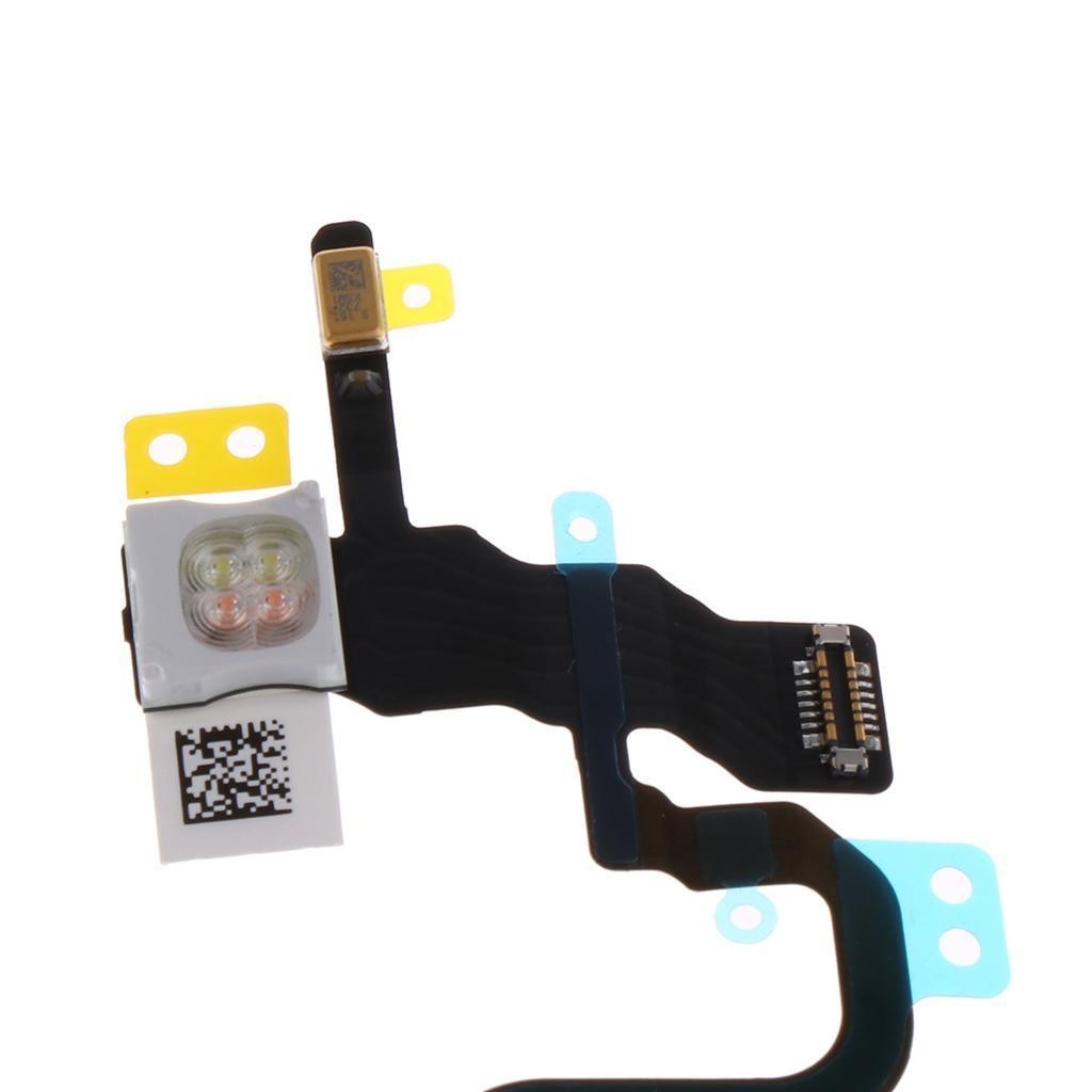 iPhone X Power ON/OFF Flex Cable + Metal Piece, I8X-015