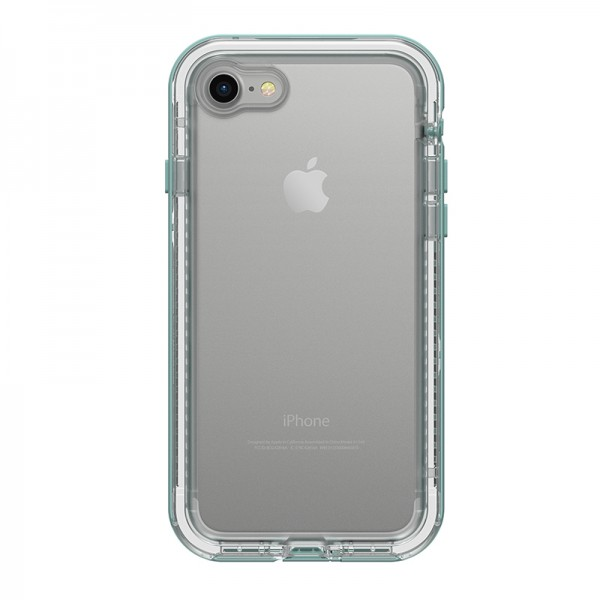 LifeProof Next Case Suits iPhone 8/7 - Clear/Aquifer, 77-57192