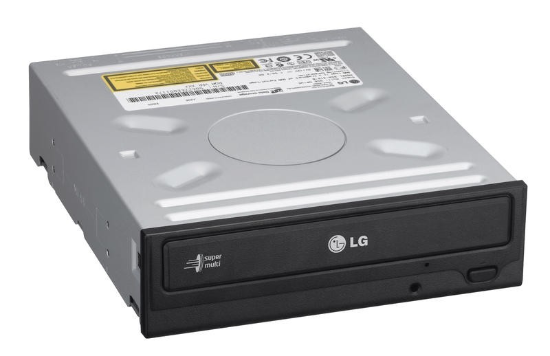 LG DVD/CD 'Super-MultiDrive' Internal Serial-ATA Optical Drive with w/LightScribe Laser Labeling technology.