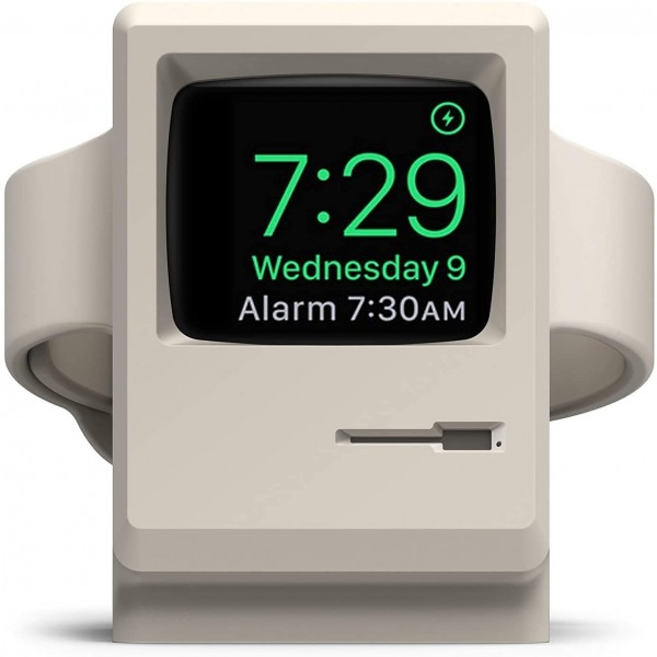 Elago W3 Stand for Apple Watch - White, EST-WT3-WH