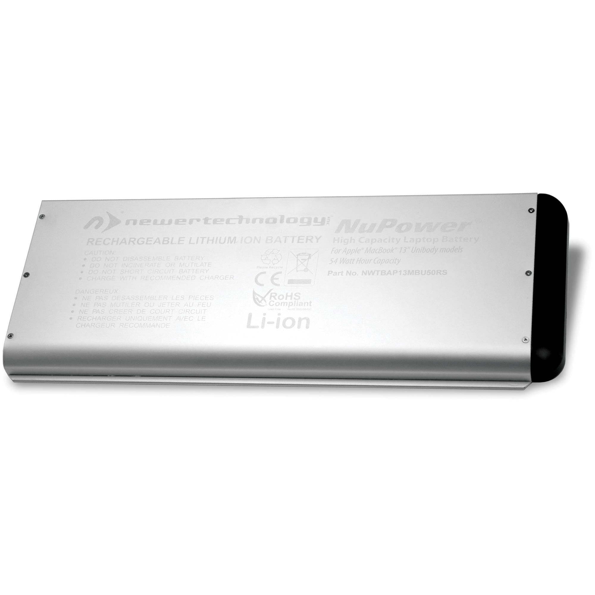 "NewerTech NuPower Battery for MacBook 13.3"" Unibody Late 2008, NWTBAP13MBU50RS"