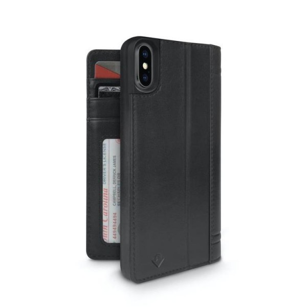 Twelve South Journal for iPhone X/Xs - Black, 12-1743