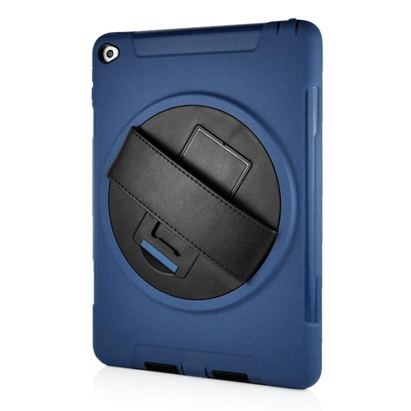 Stand Back Case with Belt for iPad Air 2 - Blue, IPD6-BELT-67379
