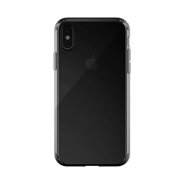 Just Mobile - TENC case for iPhone XR - Crystal Black, PC-561CB