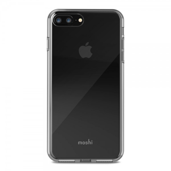 Moshi Vitros for iPhone 8 Plus/iPhone 7 Plus, Clear Protective Case - Crystal Clear, 99MO103903