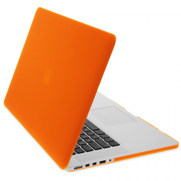Rubberised Hard Cases Laptop Cover for MacBook Pro 13-Inch Models -  Orange, DIS-ZF-MR133C-OR
