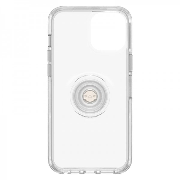 OtterBox Otter+Pop Symmetry Series Case For iPhone 12 Pro Max - Clear, 77-65782