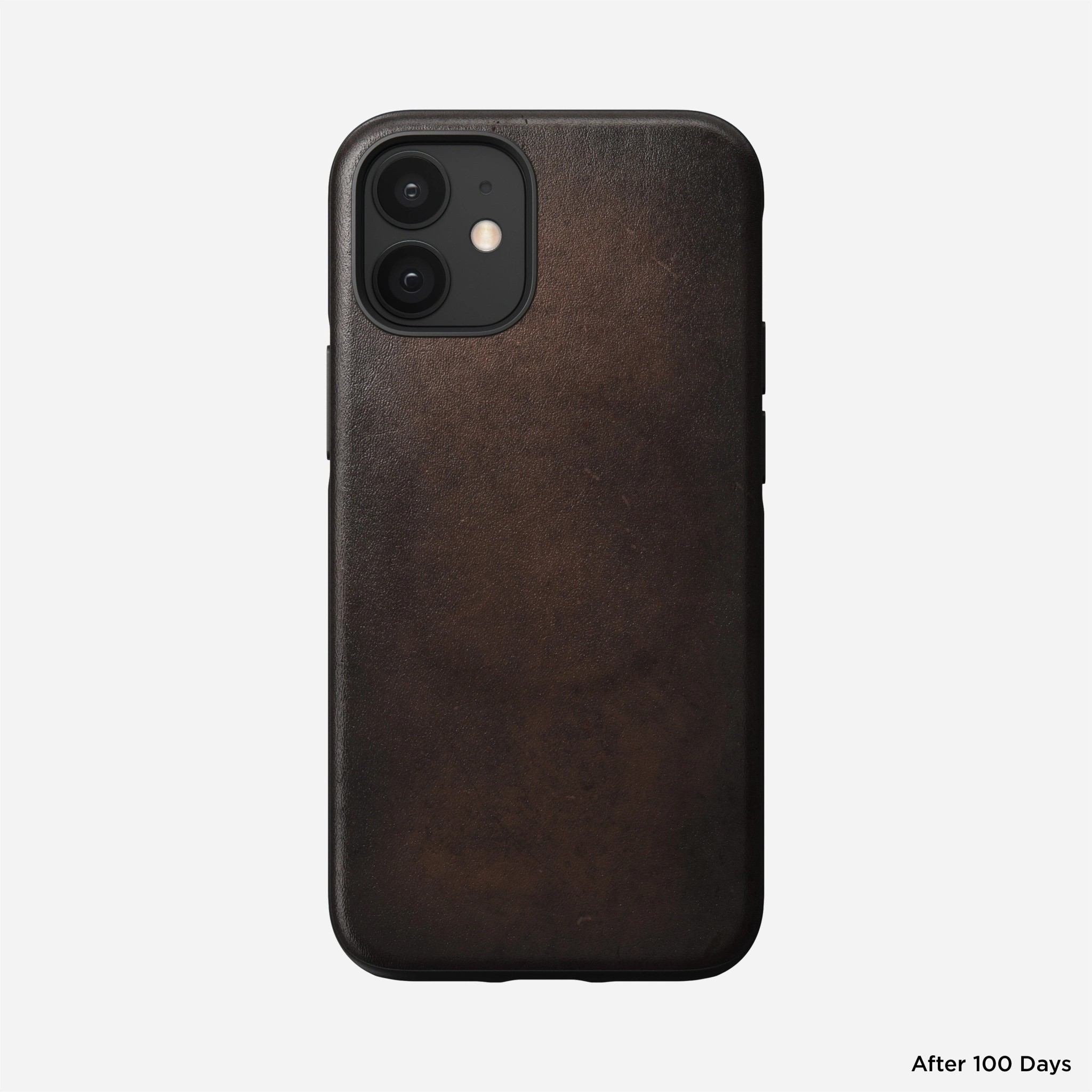 Nomad - MagSafe Leather Case - iPhone 12 Mini - Rustic Brown, NM01968085