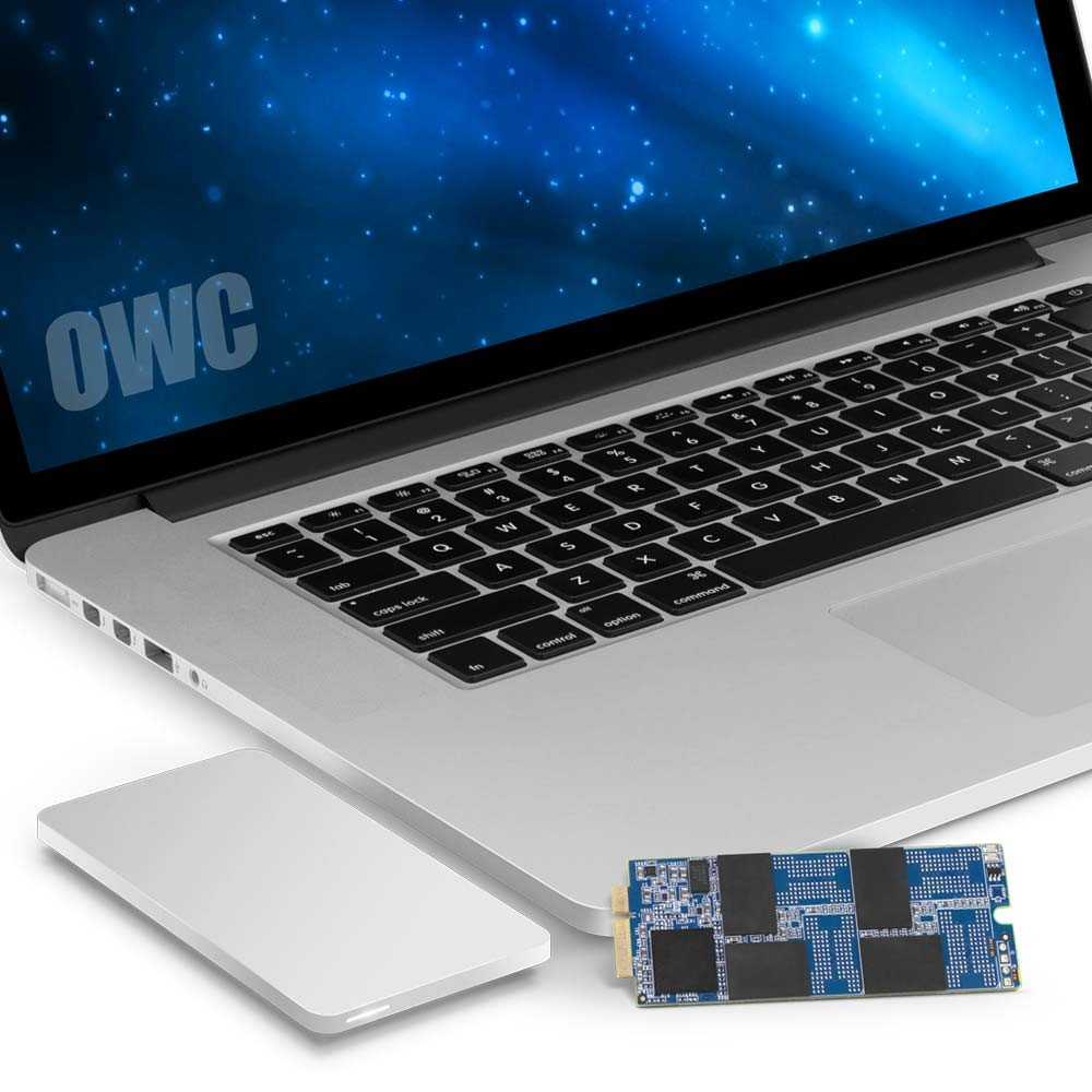 1.0TB OWC Aura Pro 6G SSD + Envoy Pro Upgrade Kit for 2012/13 MacBook Pro with Retina display., OWCS3DAP12KT01