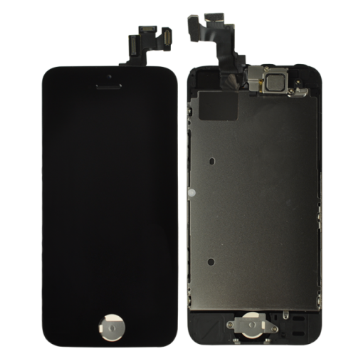 iPhone 5S LCD and Digitizer Assembly with Frame - Black