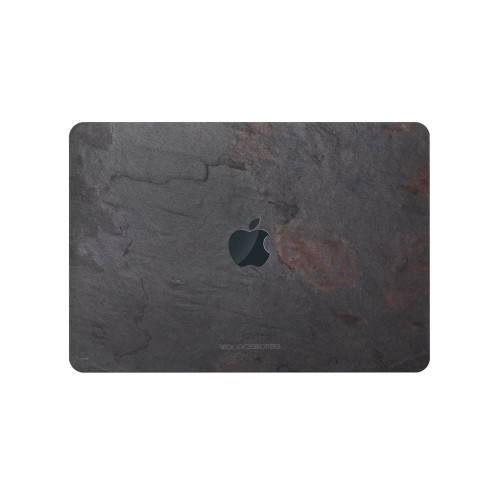 """Woodcessories EcoSkin Stone Case for MacBook 13"""" - Volcano Black"""