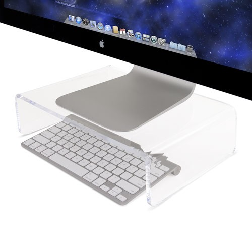 """Newer Technology NuStand mini XL: Place your LCD or CRT directly above your Mac mini or Apple Wireless Keyboard! Supports up to 22"""" CRT displays and up to 30"""" LCD displays"""