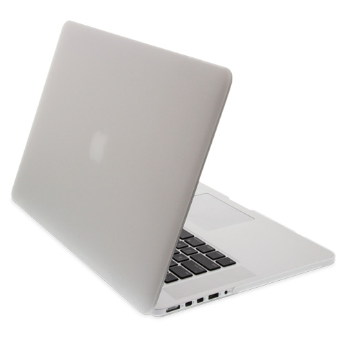NewerTech NuGuard Snap-On Laptop Cover for MacBook Pro with Retina Display 15-Inch Models - White