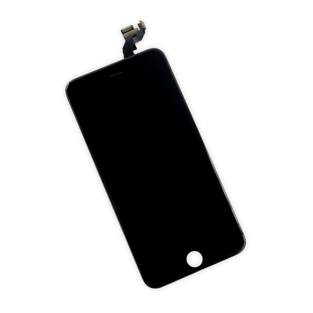 iFixit iPhone 6s Plus LCD Screen and Digitizer Full Assembly, New - Premium - Part Only - Black, IF315-038-1