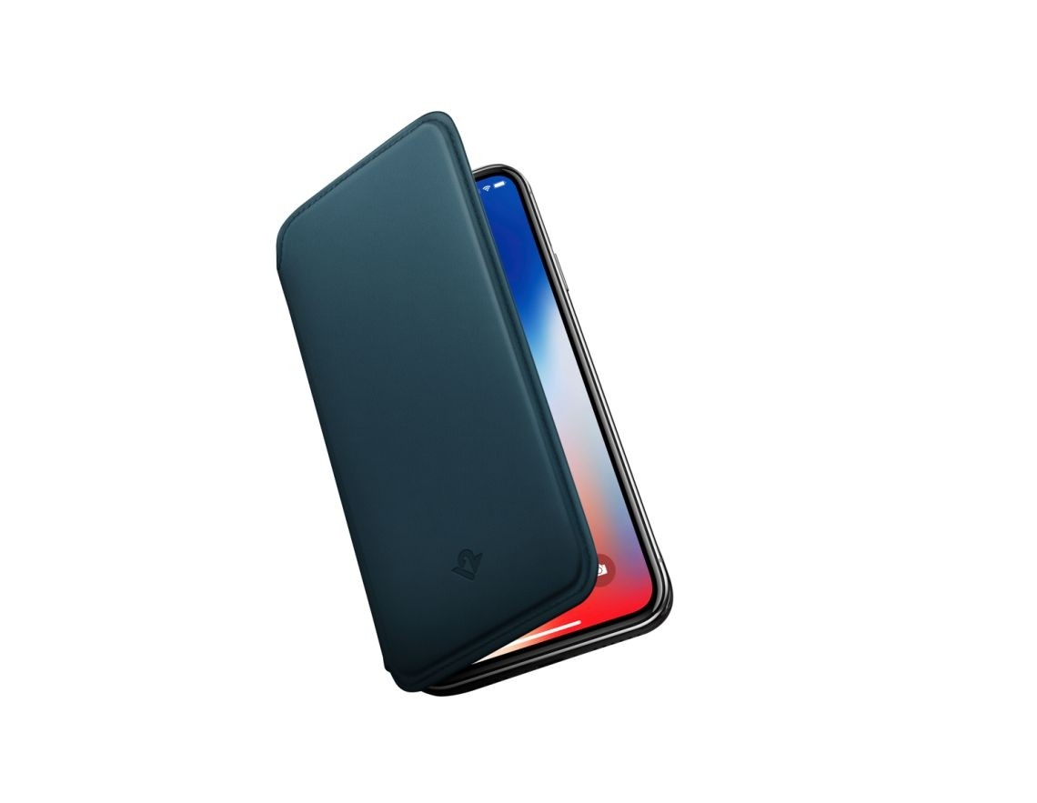 Twelve South SurfacePad for iPhone X - Teal,  12-1753