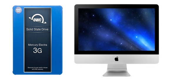 """SSD Storage for iMac 20""""/24"""" March 2009"""